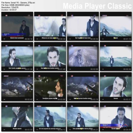موزیک ویدئوی جدید و فوق العاده زیبای اسماعیل یکا بام Sanane بطور اختصاصی از تورک شوو